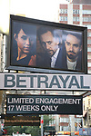 """""""Betrayal"""" - Theatre Marquee"""