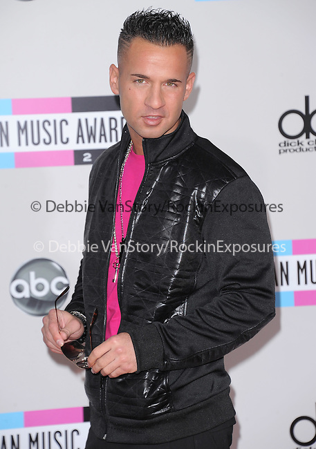 """Mike """"The Situation"""" Sorrentino  attends 2011 American Music Awards held at The Nokia Theater Live in Los Angeles, California on November 20,2011                                                                               © 2011 DVS / Hollywood Press Agency"""