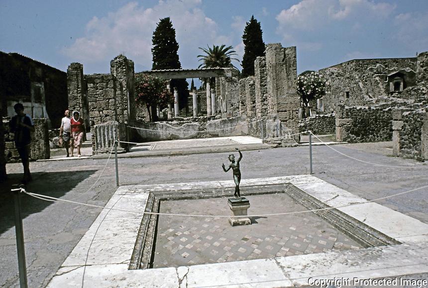 House of the Faun, Pompeii