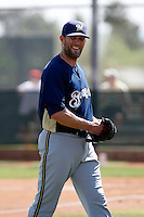 Braden Looper - Milwaukee Brewers - 2009 spring training.Photo by:  Bill Mitchell/Four Seam Images