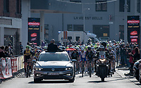 race start in Quaregnon<br /> <br /> 53rd Le Samyn 2021<br /> ME (1.1)<br /> 1 day race from Quaregnon to Dour (BEL/205km)<br /> <br /> ©kramon