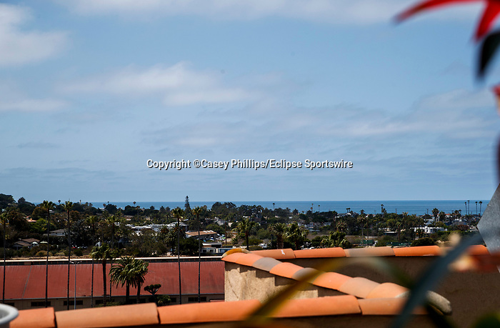 DEL MAR, CA  JULY 16: View of the ocean from the top floor of Del Mar (Photo by Casey Phillips/ Eclipse Sportswire/ CSM)