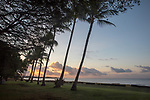 View From Waimea Plantation Cottages At Sunrise