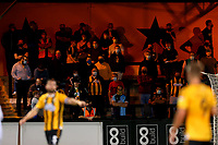 8th September 2020; Abbey Stadium, Cambridge, Cambridgeshire, England; EFL Trophy Football, Cambridge United versus Fulham Under 21; Cambridge Utd fans in the home end finally watching a game