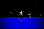 NZ's Liz Thompson during the Sentinel Homes Trans Tasman Series hockey match between the New Zealand Black Sticks Women and the Australian Hockeyroos at Massey University Hockey Turf in Palmerston North, New Zealand on Tuesday, 1 June 2021. Photo: Dave Lintott / lintottphoto.co.nz