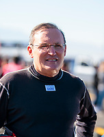 Nov 1, 2019; Las Vegas, NV, USA; NHRA top fuel driver Doug Kalitta during qualifying for the Dodge Nationals at The Strip at Las Vegas Motor Speedway. Mandatory Credit: Mark J. Rebilas-USA TODAY Sports