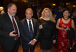 27 October 2015, Chennai, India : Sean Kelly with Maestro Zubin Mehta joining Andrew  Robb, AO, Minister for Trade and Investment at  a reception for Australian World Orchestra during his visit to India. Picture by Graham Crouch/DFAT