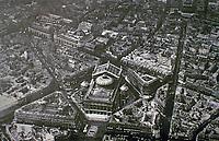 Aerial view of Paris Opera designed by Charles Garnier.