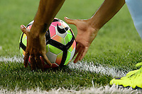 Harrison, NJ - Thursday Sept. 15, 2016: Ball during a CONCACAF Champions League match between the New York Red Bulls and Alianza FC at Red Bull Arena.