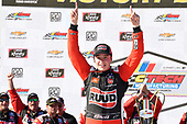 #20: Christopher Bell, Joe Gibbs Racing, Toyota Supra Ruud, wins the CTECH Manufacturing 180
