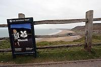 2014 03 17 Rhossili beach, Gower voted in ten best in the world