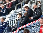 06.05.2019 Falkirk v Rangers reserves: Gary McAllister watching