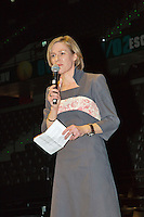 09-02-13, Tennis, Rotterdam, qualification ABNAMROWTT, Draw, Dinner, Ahoy director Jolanda Jansen