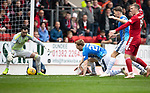 St Johnstone v AberdeenÖ23.02.19Ö  McDiarmid Park    SPFL<br /> Liam Craig misses this opportunity to score<br /> Picture by Graeme Hart. <br /> Copyright Perthshire Picture Agency<br /> Tel: 01738 623350  Mobile: 07990 594431