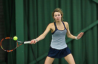 Rotterdam, The Netherlands, March 11, 2016,  TV Victoria, , NOJK 12/16 years, Evy Markovits<br /> Photo: Tennisimages/Henk Koster