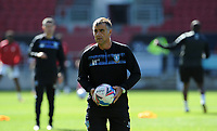 Sheffield Wednesday 1st team coach Neil Thompson during the pre-match warm-up <br /> <br /> Photographer Ian Cook/CameraSport<br /> <br /> The EFL Sky Bet Championship - Bristol City v Sheffield Wednesday - Sunday 27th September, 2020 - Ashton Gate - Bristol<br /> <br /> World Copyright © 2020 CameraSport. All rights reserved. 43 Linden Ave. Countesthorpe. Leicester. England. LE8 5PG - Tel: +44 (0) 116 277 4147 - admin@camerasport.com - www.camerasport.com