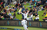 Fans enjoy the atmosphere during day three of the second International Test Cricket match between the New Zealand Black Caps and Pakistan at Hagley Oval in Christchurch, New Zealand on Tuesday, 5 January 2021. Photo: Dave Lintott / lintottphoto.co.nz