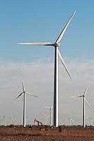 Wind Generators near Sweetwater, Texas