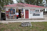 Nungwi, Tanzania, Zanzibar.  Internet Cafe, Pay Phone Station.