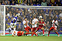 Arouna Kone of Everton shoots at goal<br />  - Everton v Stevenage - Capital One Cup Second Round - Goodison Park, Liverpool - 28th August, 2013<br />  © Kevin Coleman 2013