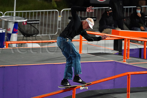 6th November 2020; Parc del Forum, Barcelona, Catalonia, Spain; Imagin Extreme Barcelona; picture show Gustavo Ribeiro (POR) during the mens street final