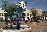 New Orleans, aquarium, Louisiana, LA, Aquarium of the Americas on the riverfront in New Orleans.