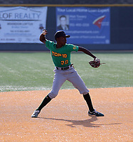 Yosander Asencio participates in the 2019 Winter Meetings International Showcase sponsored by agency Mejia Top 10 at Point Loma High School on December 9-11, 2019 in San Diego, California (Bill Mitchell)