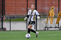 goalkeeper Josephine Delvaux (3) of Sporting Charleroi pictured during a female soccer game between Sporting Charleroi and White Star Woluwe on the first matchday in the 2021 - 2022 season of Belgian Scooore Womens Super League , friday 20 August 2021 in Marcinelle , Belgium . PHOTO SPORTPIX | DAVID CATRY