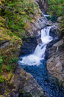 Twin Falls, South Fork of the Snoqualmie River, Ollalie State Park, North Bend, Washington, US