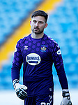 Kilmarnock v St Johnstone…30.01.21   Rugby Park   SPFL<br />Danny Rogers<br />Picture by Graeme Hart.<br />Copyright Perthshire Picture Agency<br />Tel: 01738 623350  Mobile: 07990 594431