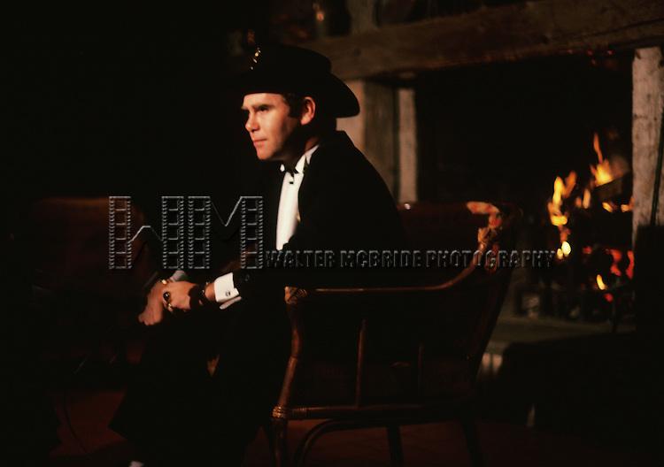 Elton John pictured in New York City on December 1,  1981.