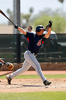Bo Greenwell  -  Cleveland Indians - 2009 spring training.Photo by:  Bill Mitchell/Four Seam Images