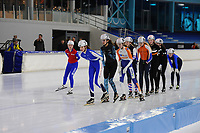 SCHAATSEN: HEERENVEEN: 15-01-2018, IJsstadion Thialf, Baanmarathonwedstrijd, ©foto Martin de Jong