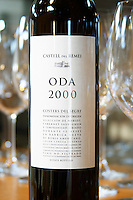 Oda 2000, merlot cabernet sauvignon tempranillo. Castel del Remei, Costers del Segre, Catalonia, Spain.