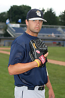 Mahoning Valley Scrappers David Huff poses for a photo before a NY-Penn League game at Dwyer Stadium on July 28, 2006 in Batavia, New York.  (Mike Janes/Four Seam Images)