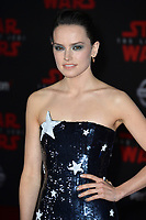 """Daisy Ridley at the world premiere for """"Star Wars: The Last Jedi"""" at the Shrine Auditorium. Los Angeles, USA 09 December  2017<br /> Picture: Paul Smith/Featureflash/SilverHub 0208 004 5359 sales@silverhubmedia.com"""