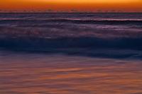 First light on surf, Cape Hatteras National Seashore, North Carolina