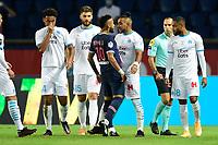 incident entre Neymar Jr (PSG) vs Dimitri Payet (OM) <br /> 13/09/2020<br /> Paris Saint Germain PSG vs Olympique Marseille OM <br /> Calcio Ligue 1 2020/2021  <br /> Foto JB Autissier Panoramic/insidefoto <br /> ITALY ONLY