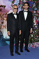 """Andrea and Matteo Bocelli<br /> arriving for the European premiere of """"The Nutcracker and the Four Realms"""" at the Vue Westfield, White City, London<br /> <br /> ©Ash Knotek  D3458  01/11/2018"""
