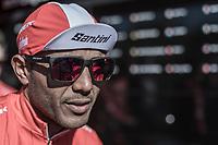 Tsgabu Grmay (ETH/Trek Segafredo) pre race<br /> <br /> 82nd La Flèche Wallonne 2018<br /> 1 Day Race: Seraing - Huy (198,5km)