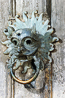Durham: Durham Cathedral--Sanctuary knocker, 12th century.  Reference only.