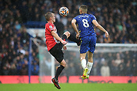 James Ward-Prowse of Southampton and Chelsea's Mateo Kovacic during Chelsea vs Southampton, Premier League Football at Stamford Bridge on 2nd October 2021
