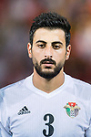 Tareq Khattab of Jordan during the International Friendly match between Hong Kong and Jordan at Mongkok Stadium on June 7, 2017 in Hong Kong, China. Photo by Marcio Rodrigo Machado / Power Sport Images