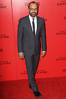 """NEW YORK, NY - NOVEMBER 20: Jeffrey Wright at the New York Premiere Of Lionsgate's """"The Hunger Games: Catching Fire"""" held at AMC Lincoln Square Theater on November 20, 2013 in New York City. (Photo by Jeffery Duran/Celebrity Monitor)"""