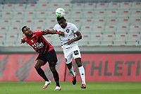 9th September 2020; Arena da Baixada, Curitiba, Brazil; Brazilian Serie A, Athletico Paranaense versus Botafogo; Nikão of Athletico Paranaense and Salomon Kalou of Botafogo