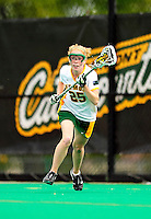 1 May 2010: University of Vermont Catamount attacker Lindsay Hegarty, a Junior from Andover, MA, in action against the University of New Hampshire Wildcats at Moulton Winder Field in Burlington, Vermont. The Lady Catamounts fell to the visiting Wildcats 18-10 in the last game of the 2010 regular season. Mandatory Photo Credit: Ed Wolfstein Photo