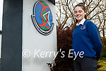 Lauren Murphy, a Causeway Comprehensive school student, winner of the P-EXCO, Power of Sport category in a recent competition