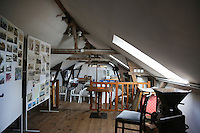Versammlungssaal in der Greetsieler Zwillingsmühle