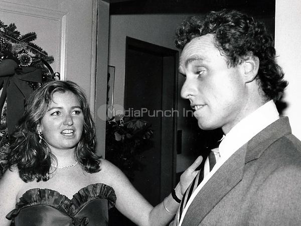 Courtney Kennedy-Hill, Joe Kennedy Jr. 1979<br /> Photo By John Barrett-PHOTOlink.net / MediaPunch