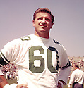 Philadelphia Eagles Chuck Bednarik (60) sideline portrait during a game from his 1962 season with the Philadelphia Eagles. Chuck Bednarik played for 14 season, all with the Philadelphia Eagles, he was a 8-time Pro Bowler and was inducted into the Pro Football Hall of Fame in 1967.(SportPics)